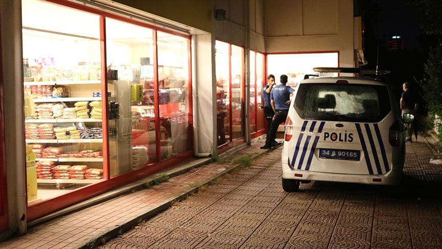 Maltepe'de silahlı market soygunu!