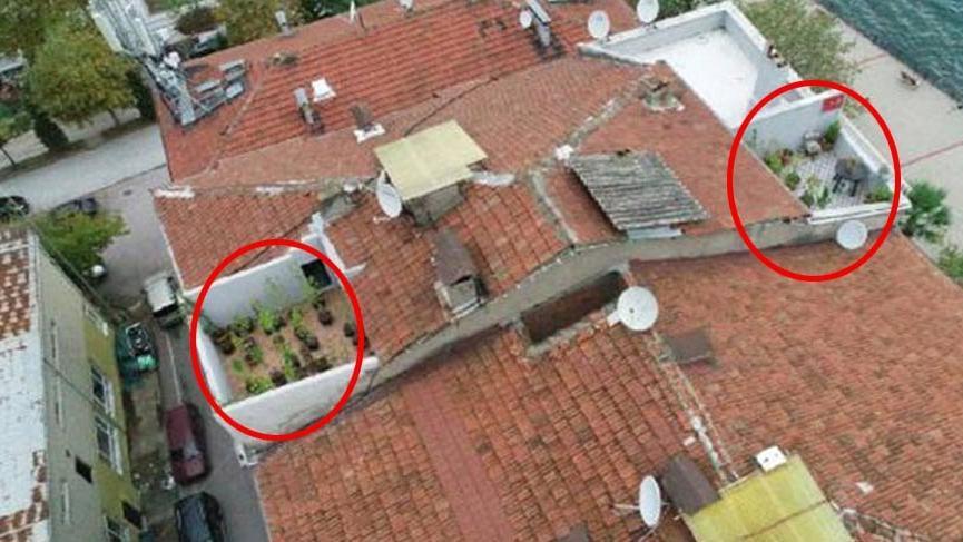 Drone'lar tespit etti!