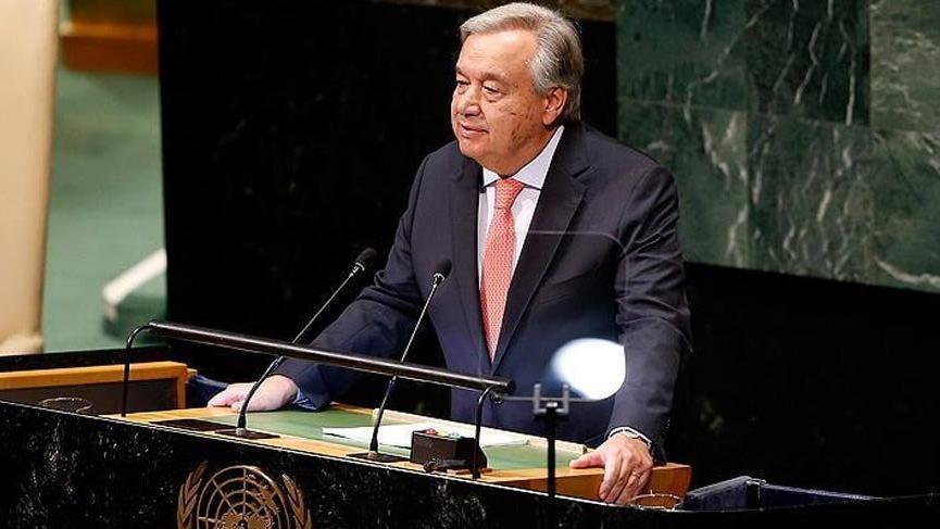 Guterres'ten dünya liderlerine çağrı!