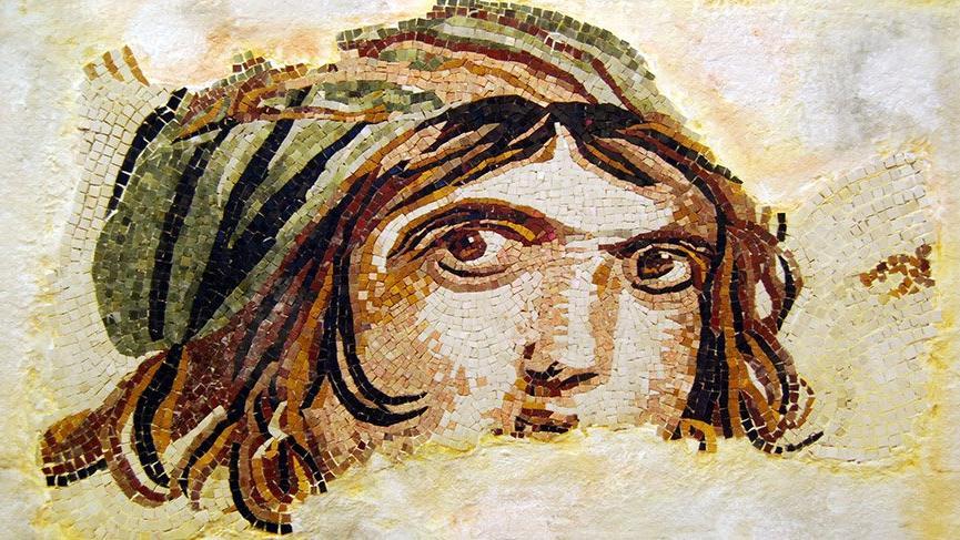 5 bin yıllık mozaik sanatı yeniden hayat buldu