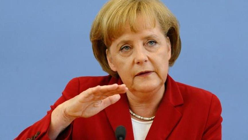 Merkel: Zayıf bir Türkiye ekonomisi Almanya'nın çıkarına değil
