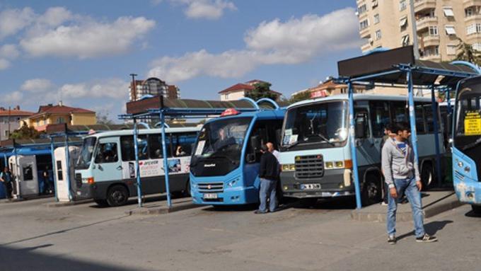 Pendik- Tuzla minibüs hattına operasyon