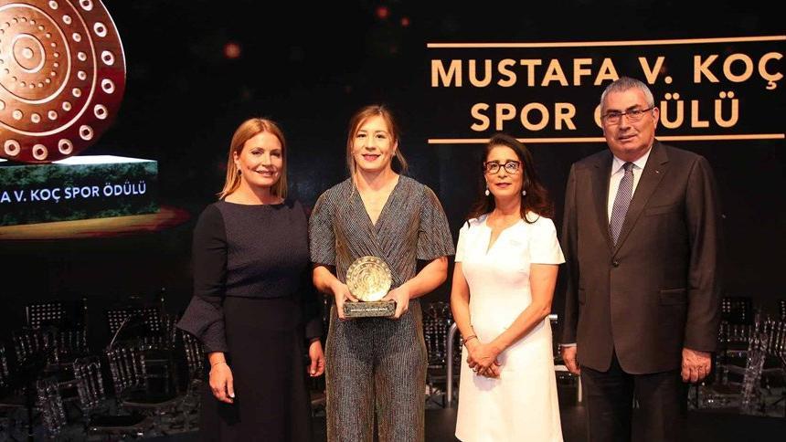 Mustafa V. Koç Spor Ödülü'nün sahibi belli oldu