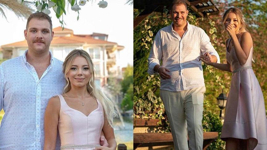 CHP'li eski Bakanın oğlu DYP'li eski bakanın torunu ile nişanlandı