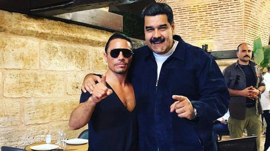 Venezuela Devlet Başkanı Maduro 2 saatte vatandaşın 2 aylık maaşını yedi