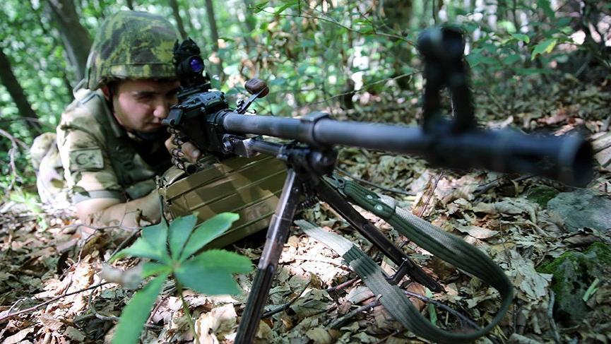 Giresun'da çatışma! 1 PKK'lı terörist öldürüldü