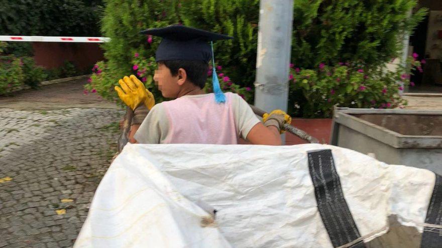 Küçük yaşta hayat okulundan mezun oldu