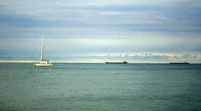 Marmara'da deniz ulaşımınafırtına engeli