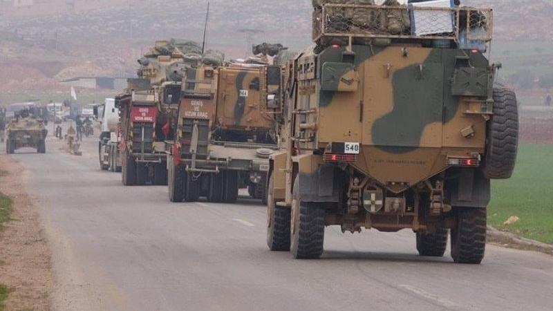 TSK'dan Hama'ya askeri takviye