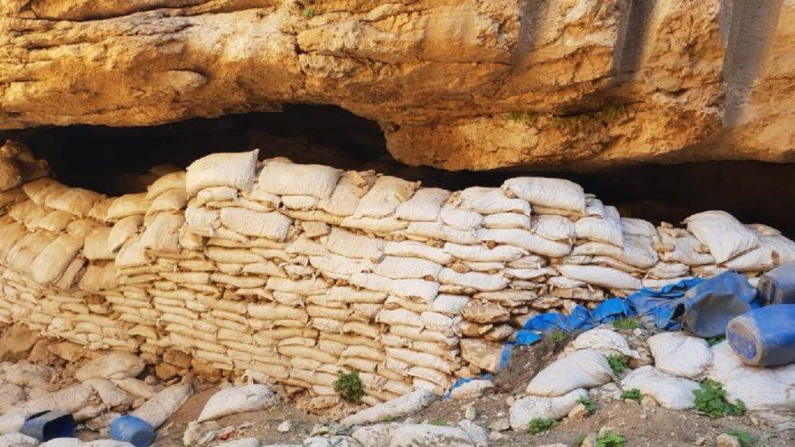 Terörist PKK'nın barınaklarına operasyon