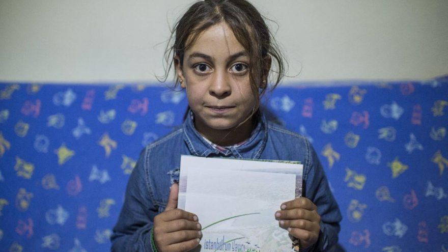 Bakan talimat verdi Suriyeli Halime Cuma okula başlayacak