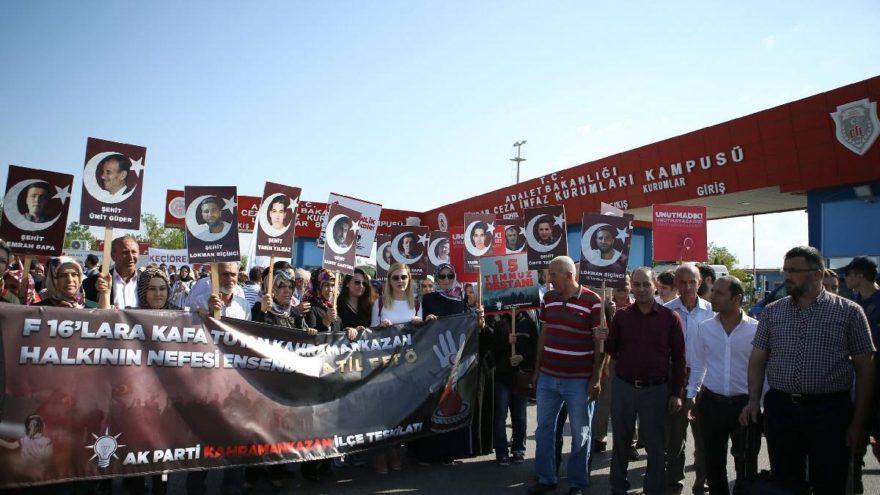 AKP'lilerden darbe girişimi davalarına yakın takip