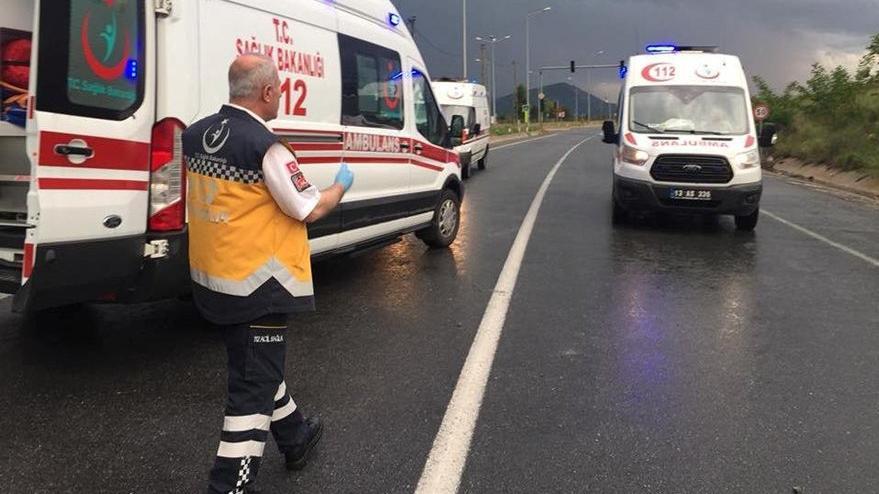 Şırnak'ta yolcu otobüsü devrildi! Çok sayıda yaralı var