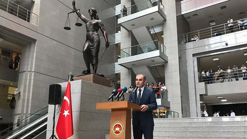 """Başsavcısı Fidan:""""Anayasaya bağlılık her türlü sadakatin üstündedir"""""""