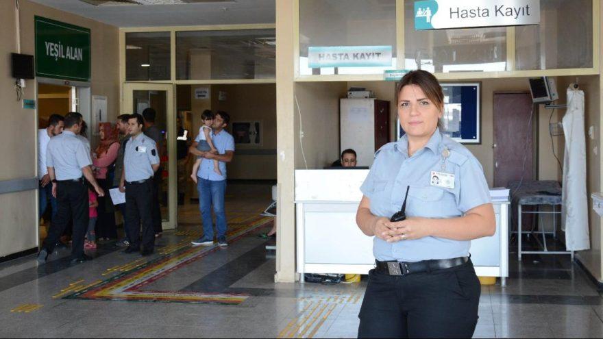 Hastane güvenlik görevlisi fark etti, ölümden döndü