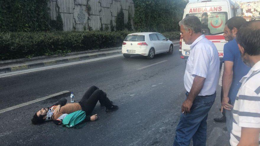Tiyatrocu Direnç Dedeoğlu eşiyle kaza geçirdi