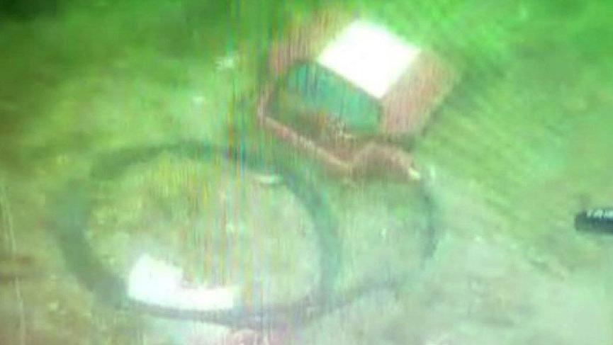 Düşen helikopterin enkaz görüntüsü ortaya çıktı