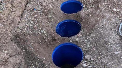 Lice'de toprağa gömülü 817 kilo esrar ele geçirildi