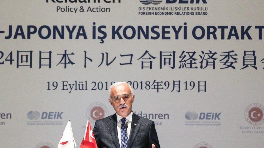24. Türkiye-Japonya İş Konseyi Ortak Toplantısı yapıldı