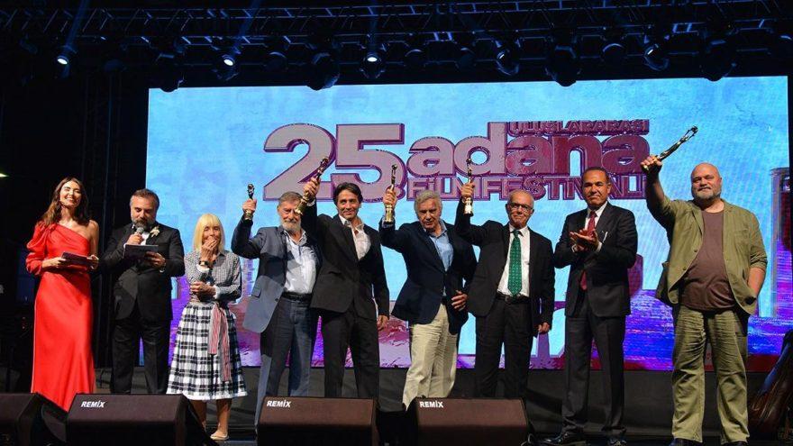 Adana Film Festivali'nde ustalar ödüllendirildi