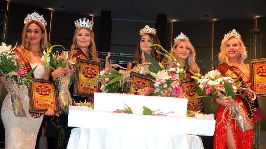 Kuşadası'da güzellik yarışması yapıldı
