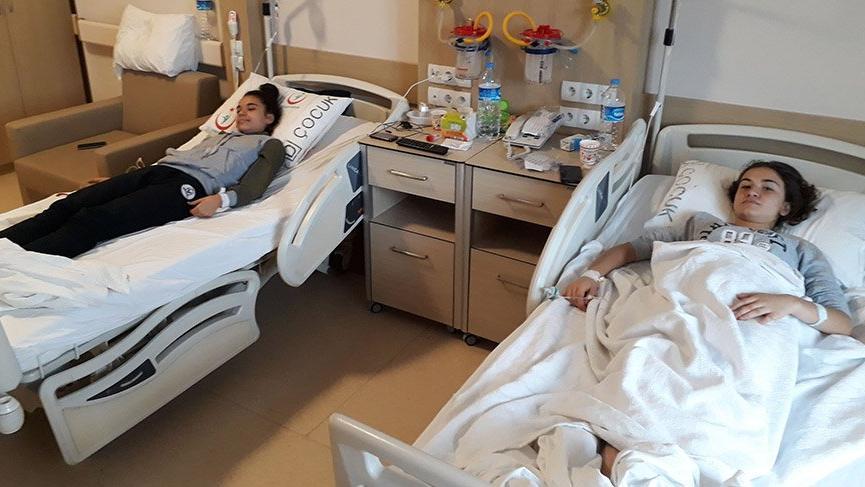 Giresun'da, 110 öğrenci zehirlenmesi şüphesiyle hastaneye kaldırıldı
