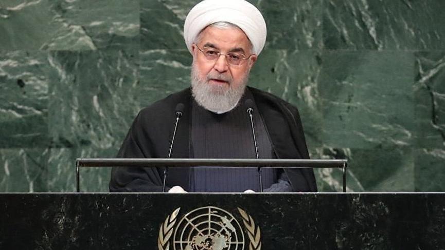 Ruhani: ABD güçlü olduğu için haklı olduğunu zannediyor