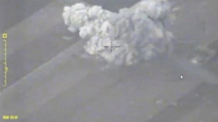 Rusya hava kuvvetleri İdlib operasyonu görüntülerini yayınladı