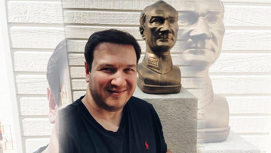 Şahan Gökbakar'dan Atatürk paylaşımı