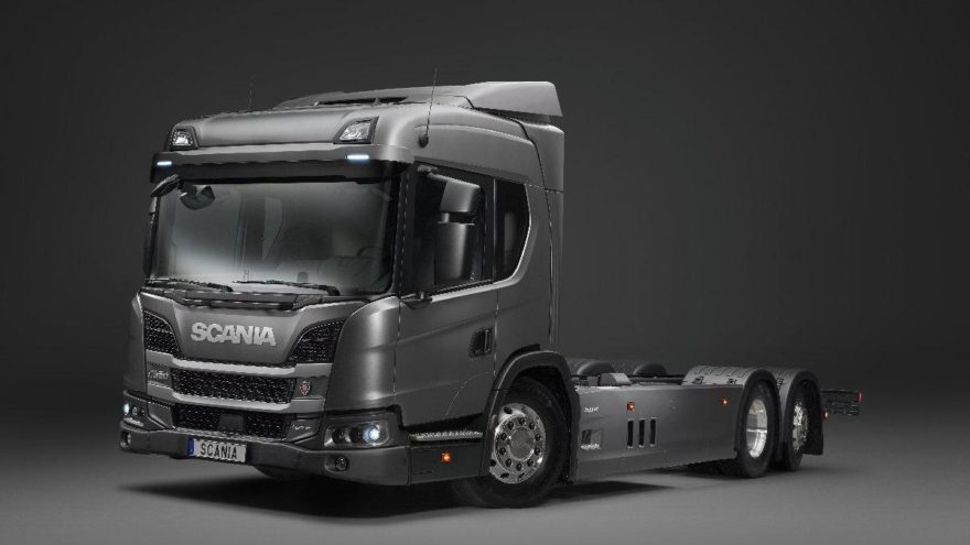 Scania'dan hibrit model!