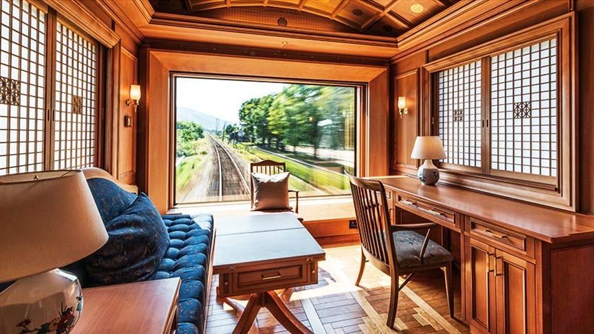 Japonya'yı lüks cruise trenleriyle keşfetmek