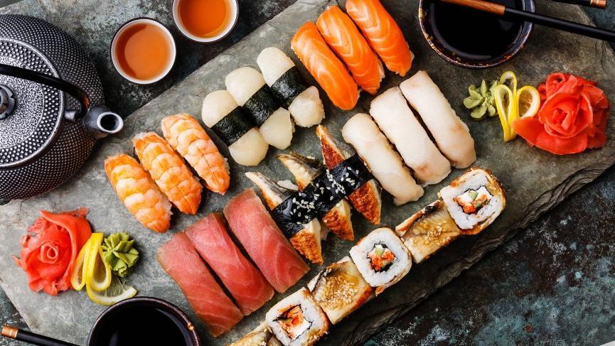 100 porsiyon suşi yedi, restorana girişi yasaklandı