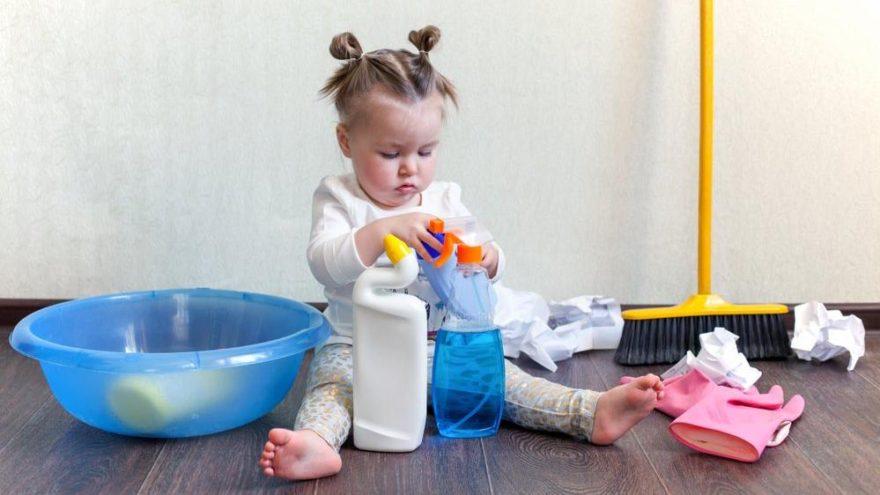 Temizlik ürünleri çocukların sağlığını nasıl etkiliyor?