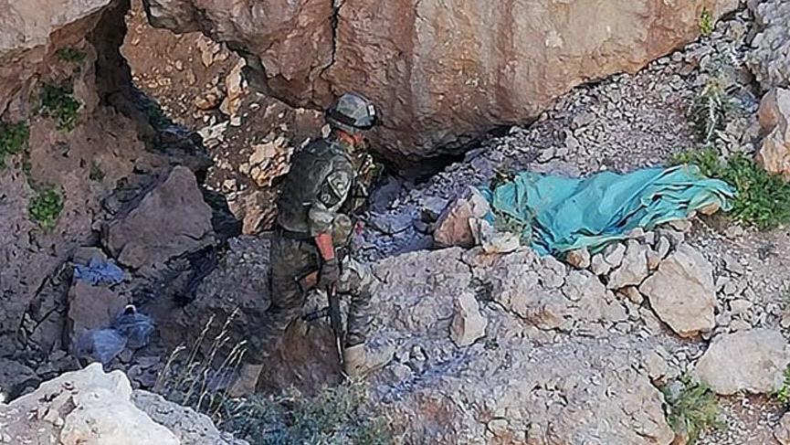 PKK'nın Siirt'te bulunan sığınakları imha edildi