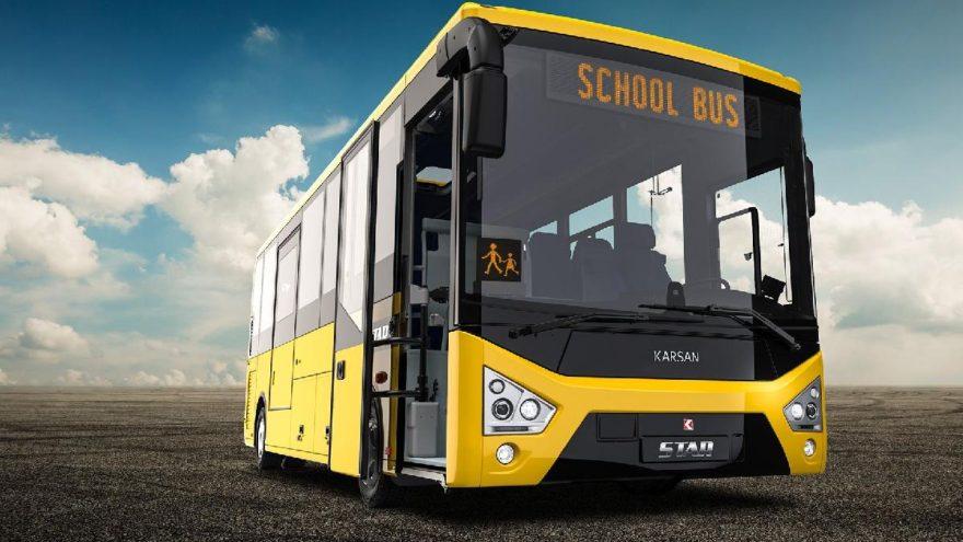 Öğrenci dostu okul otobüsü
