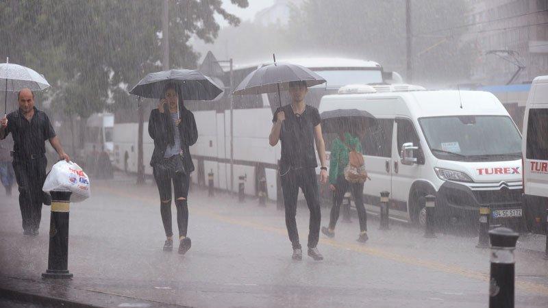 Dikkat yağışlar yurdu sarıyor! Tüm hafta sürecek…