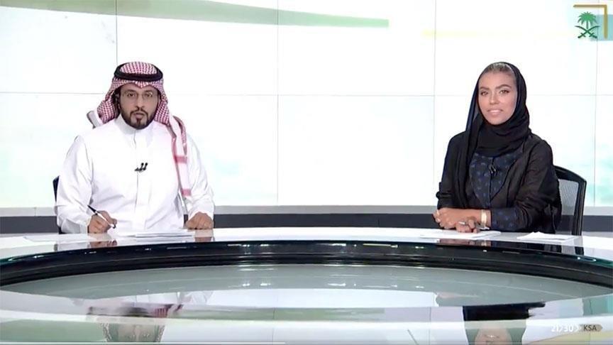 Suudi Arabistan'da bir ilk daha… Ana haberi kadın spiker sundu