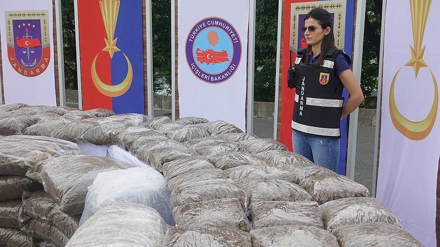 Emniyet Genel Müdürlüğü duyurdu…8 ayda 62 ton uyuşturucu madde ele geçirildi