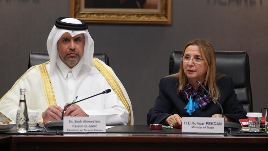 Katar ile Türkiye arasında imzalar atıldı