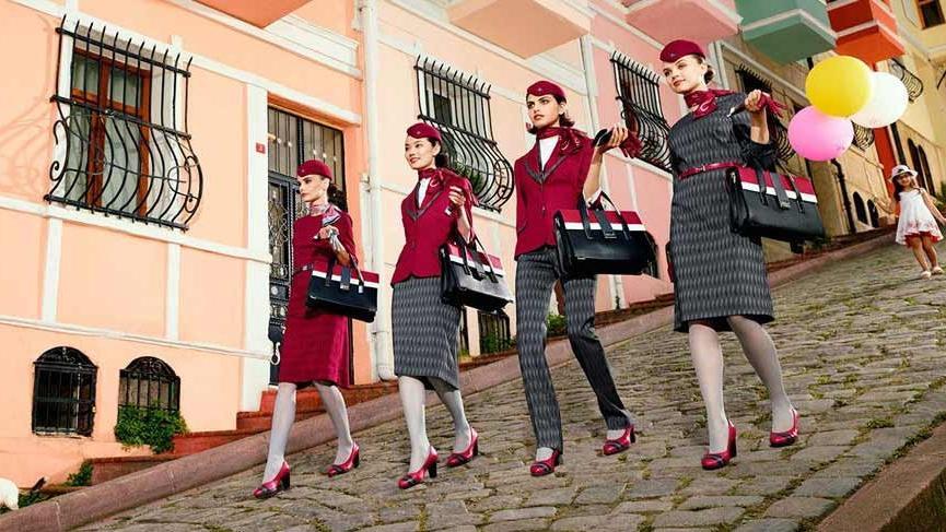 THY'nin yeni personel üniformaları tepki çekti: İtalyan tasarımı…