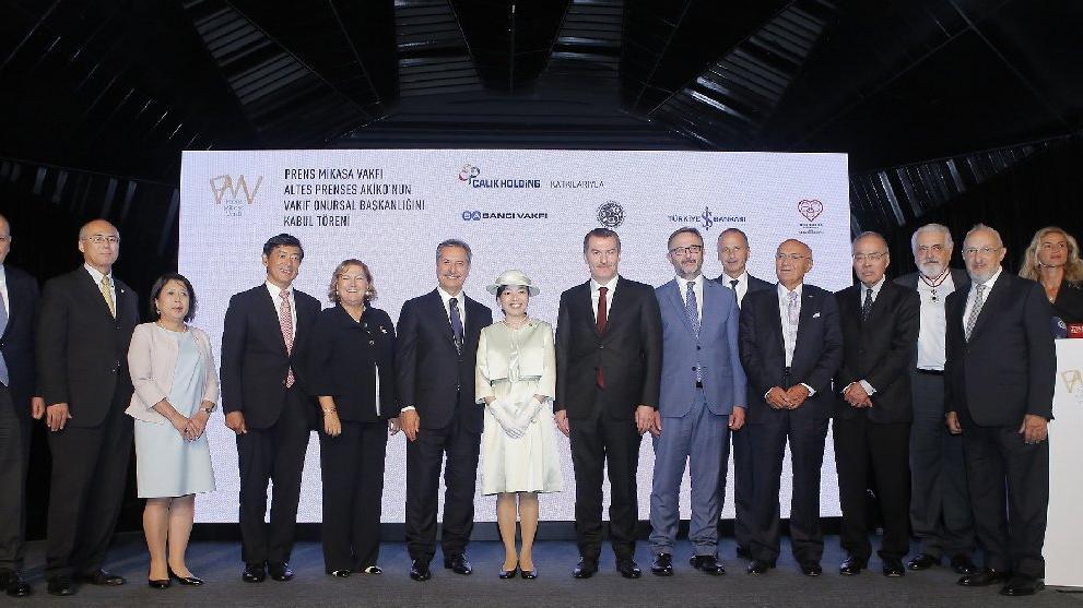 Japonya Prensesi Türk iş dünyasıyla biraraya geldi