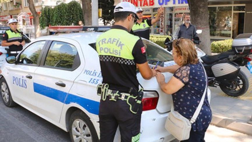 Yayalara geçiş hakkı tanımayan sürücülere ceza yağdı