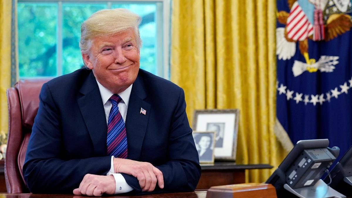 Trump'tan 854 milyar dolarlık imza