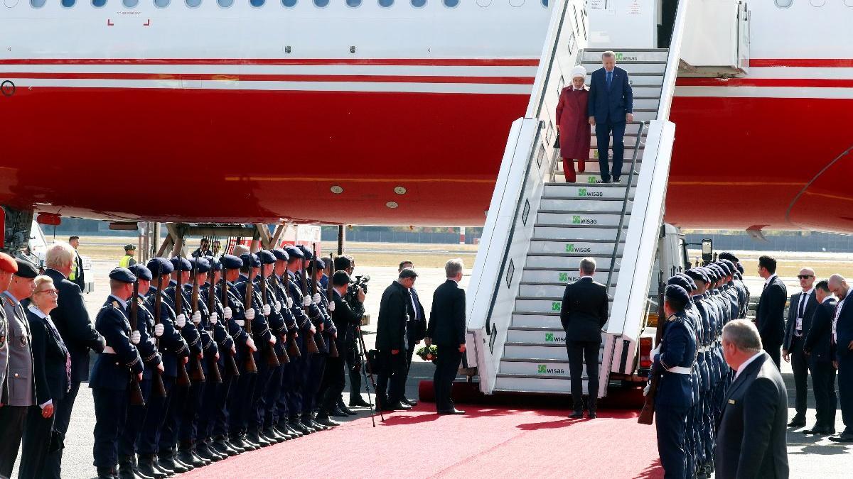 Erdoğan'ın Almanya ziyaretinde şaşırtan detay... Bu detay sadece sozcu.com.tr'de!