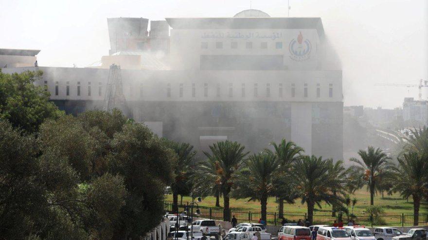 Libya'da silahlı baskın