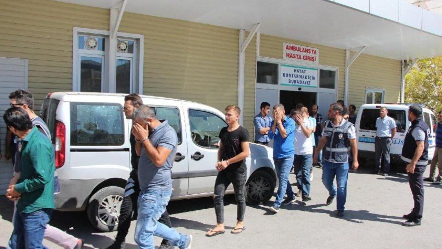 Gaziantep'te 'Kırmızı Kart' operasyonu: 24 gözaltı