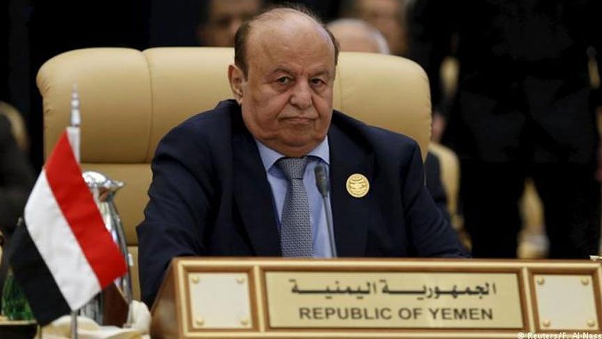 Yemen lideri tedavi için ABD'ye gitti