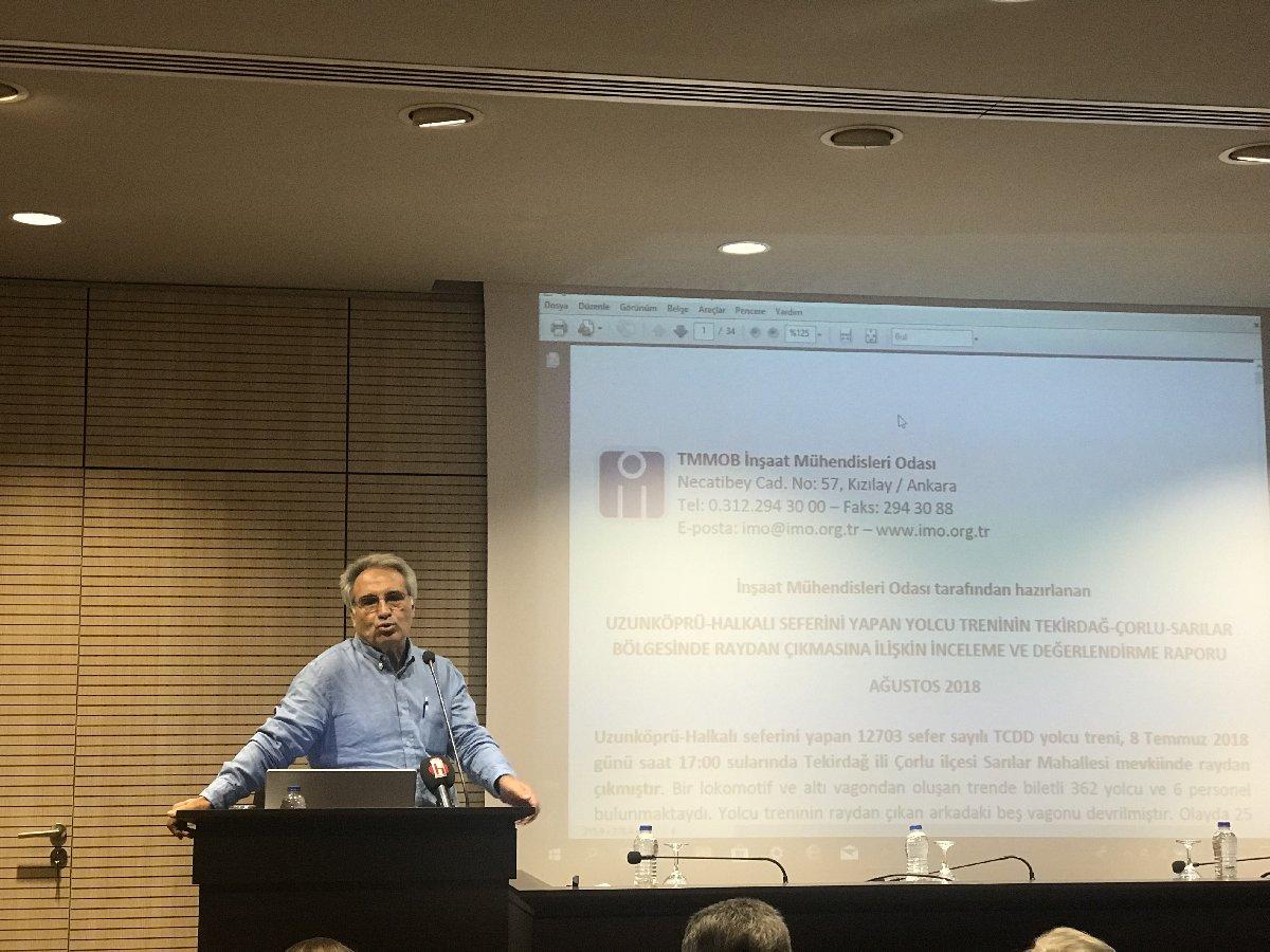 FOTO:SÖZCÜ - Raporu İnşaat Mühendisleri Odası Başkanı açıkladı.