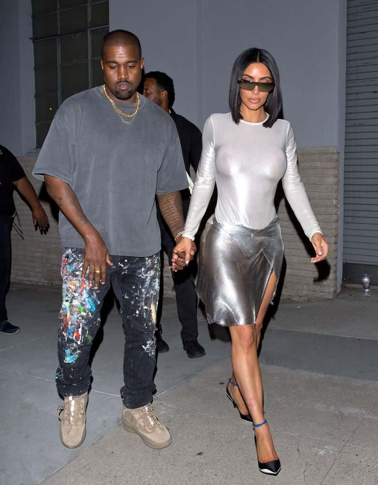 Kanye West ve Kim Kardashian