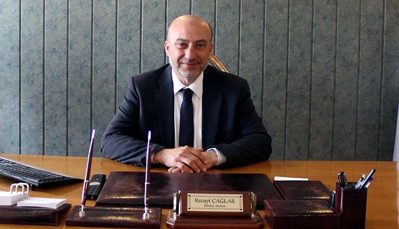 Yeniçağa Belediye Başkanı Recai Çağlar, kendisi adına şikayette bulunan müftüye sitem etti. Foto DHA